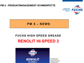 PM5 News RENOLIT HI SPEED 2